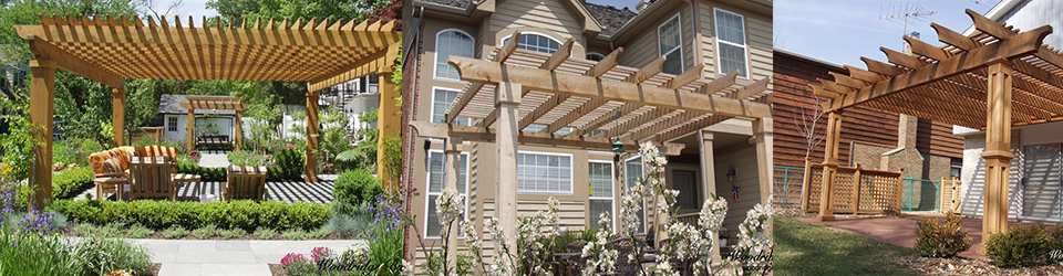 Woodridge Builders - Pergolas, Arbors and Porticos
