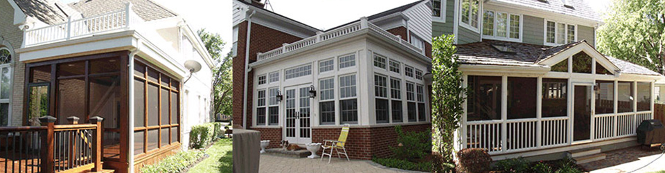 Woodridge Builders - Sunrooms