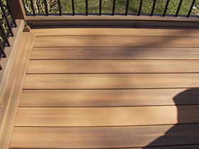 Decking materials we use for Vinyl decking materials