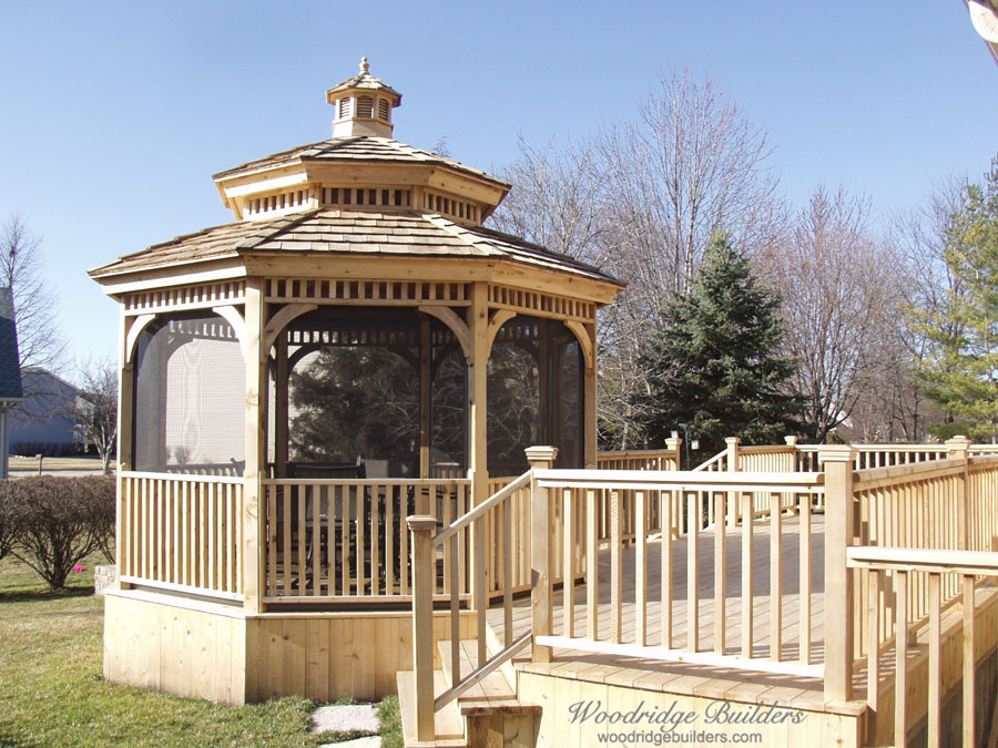 Decks gazebos and outdoor living spaces in chicagoland for Decks and gazebos